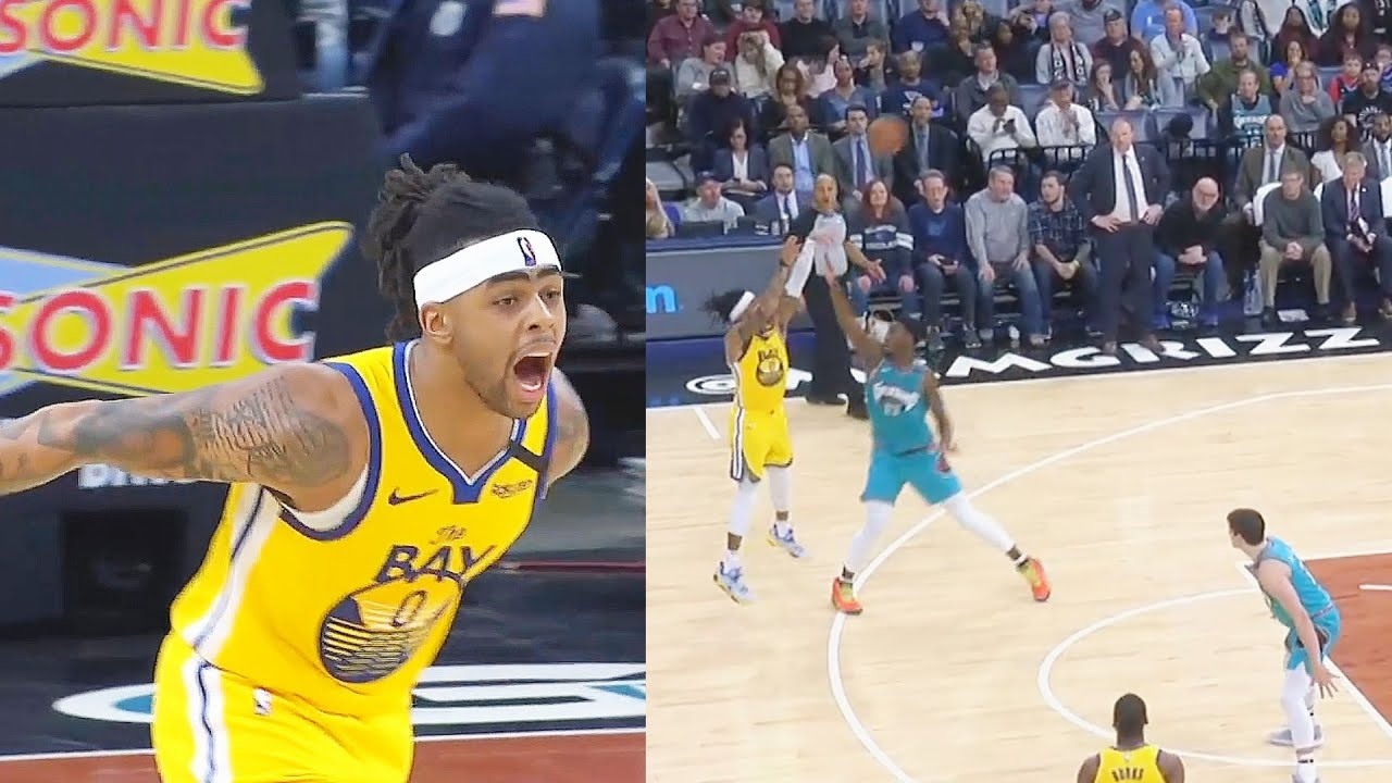D'Angelo Russell Unreal Stephortless Shots Tryna Make Warriors Great Again! Warriors vs Grizzli