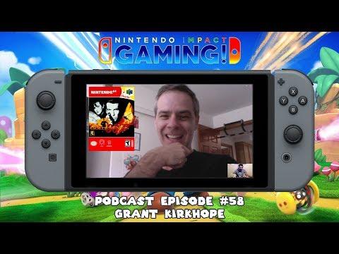 Podcast Episode #58 - Grant Kirkhope