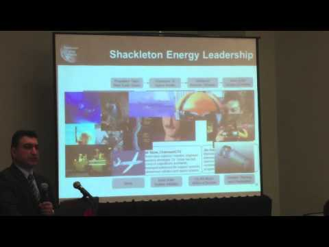Jim Keravala of Shackleton Energy Company at the 2013 Canadian Space Commerce Association Conference