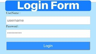 Login System with PHP and MySQL Database with session