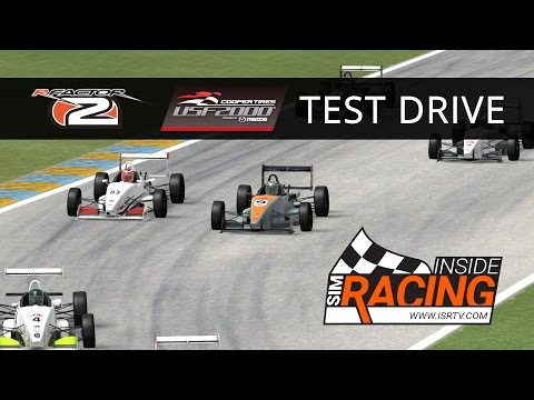 rFactor 2 USF2000 Test Drive at Homestead-Miami (Palm Springs)