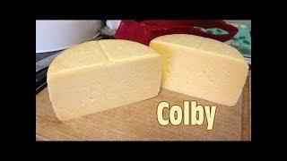 Как приготовить вкусный сыр/Американский Колби/Дома на кухне