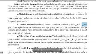 İst Üni İLİTAM Arapça 1/ 3.Ünite İRAB/ Ders 2