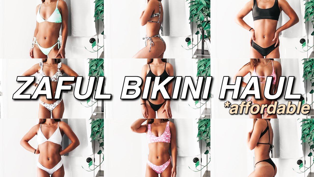 HUGE SUMMER ZAFUL BIKINI TRY-ON HAUL 2020   Affordable Bikinis, True & Honest Review