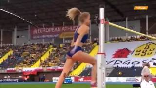 Сексуальная легкоатлетка Левченко выиграла ЧЕ