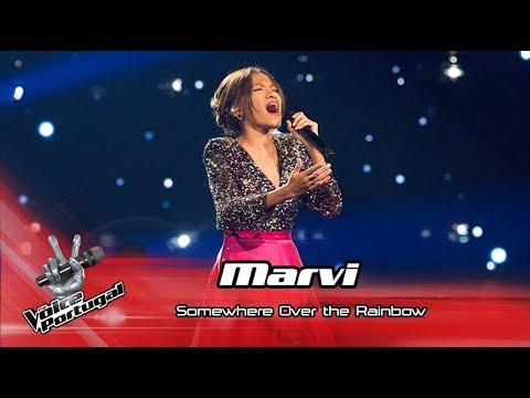Marvi - 'Somewhere over the rainbow'   Gala   The Voice Portugal
