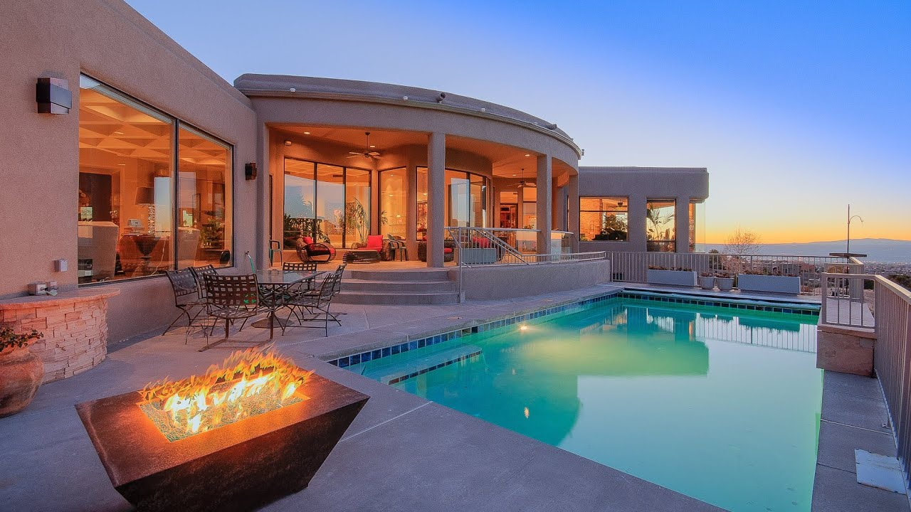 High desert luxury home for sale youtube for Pics of new homes