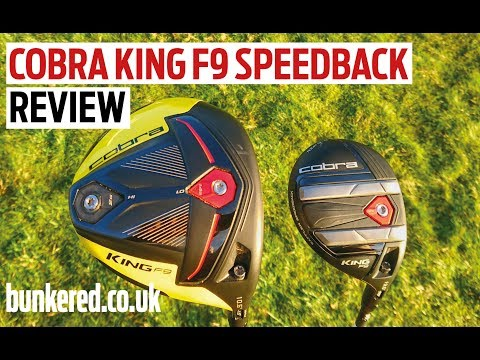 FIRST REVIEW! Cobra KING F9 SPEEDBACK driver