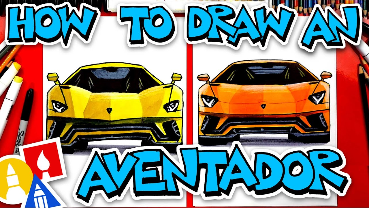 How To Draw A Lamborghini Aventador S Front View Phuket News