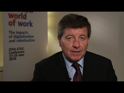 Guy Ryder, Director General, ILO on policies to shape the new world of work