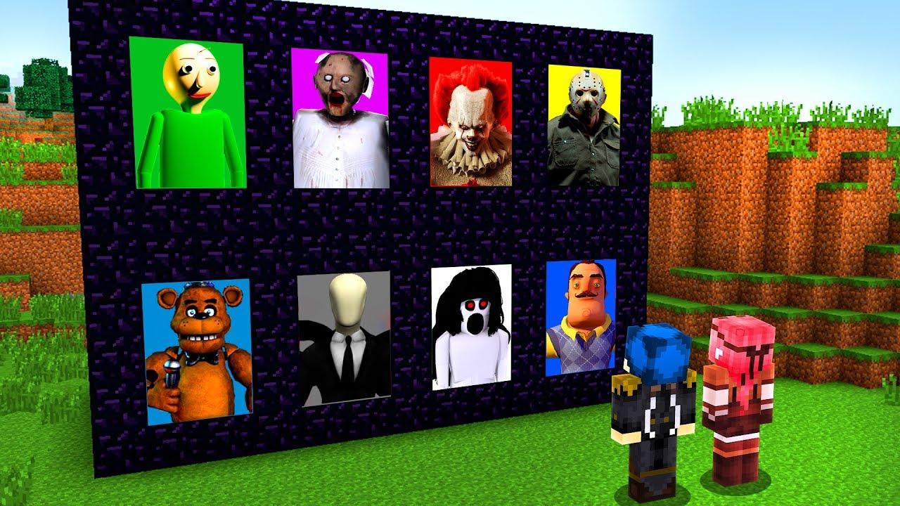 Download Minecraft ITA - ENTRIAMO NEI PORTALI DEI SUPER CATTIVI!!