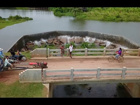 How Is Possible ? So Beautifule Bridge And Naturale In Camboda
