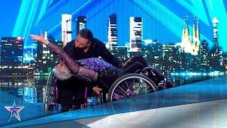 ¡Sin LÍMITES! Esta PAREJA BAILA en SILLA de RUEDAS | Audiciones 5 | Got Talent España 5 (2019)