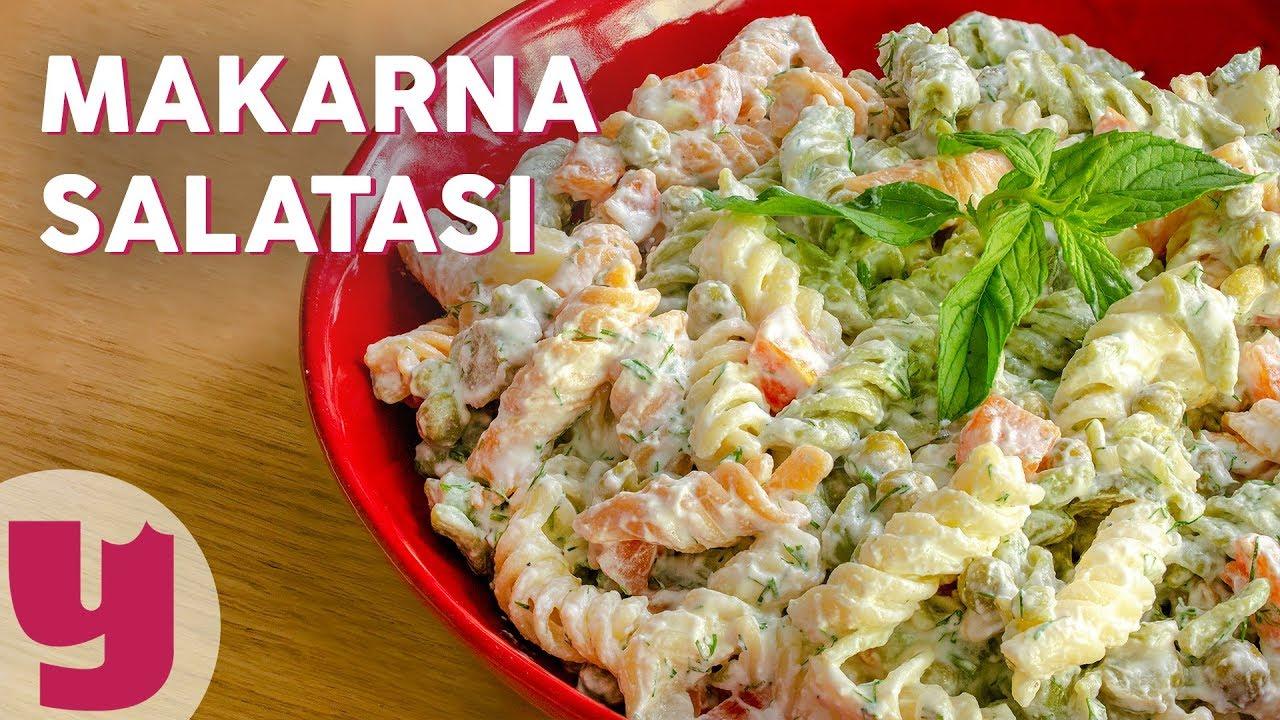 Çok Pratik Makarna Salatası Tarifi | Salata Tarifleri | Yemek.com