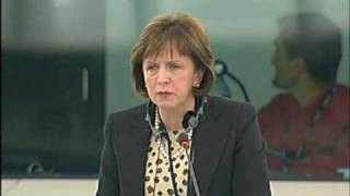 Diane Dodds raising Climate Change & Energy Costs in the European Parliament