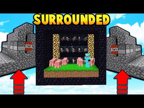BASE SURROUNDED BY ENEMIES!  | Minecraft FACTIONS #661