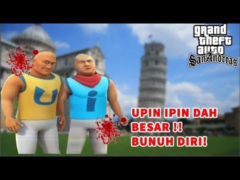 upin-ipin-dah-besar-malah-bunuh-diri---gta-lucu-indonesia