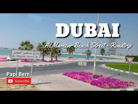 Dubai Al Mamzar Beach Street Roadtrip | Papi Bern