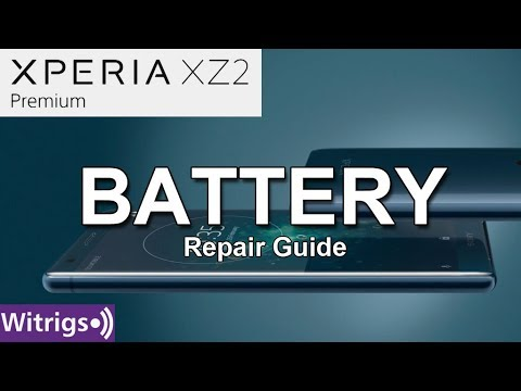 Sony Xperia XZ2 Premium Battery Repair Guide