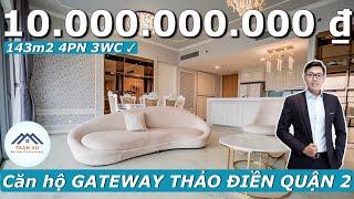 ✅[4K]Khám phá căn hộ Gateway Thảo Điền Quận 2 | Trần Vũ Vlog