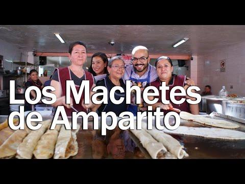 Sazón de mi Tierra | Mercado San Pedro de los Pinos | Machetes de Amparito | 1x01