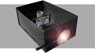 Making a smartphone projector with a box, Does it really work?