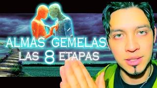 Las 8 etapas en la relación de ALMAS GEMELAS (llamas gemelas)