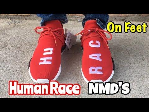 Authentic NMD Human Race Red Color [SNEAKERa1006] $125.00