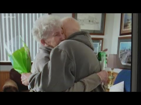 Digital Dive: A surprise reunion for woman's 84th birthday