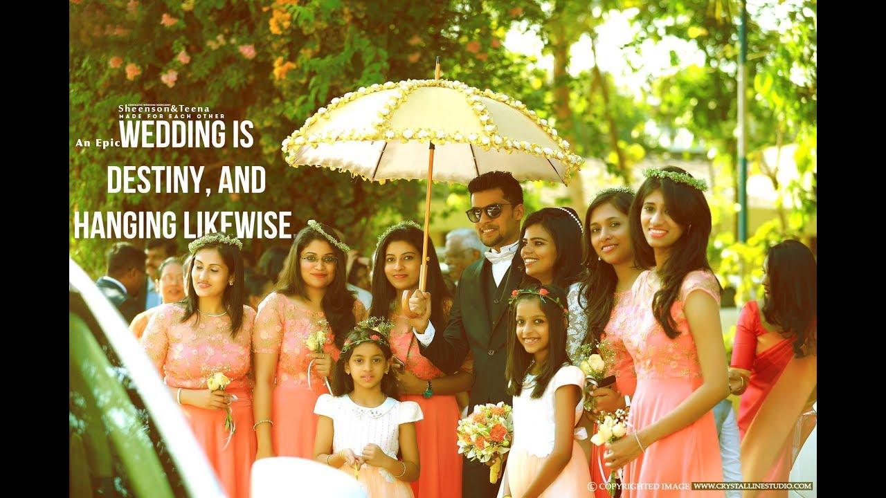 Kerala 2017 Prized Christian Wedding Highlight Sheenson Teena