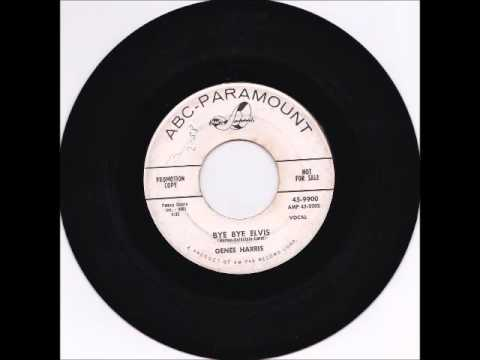 Genee Harris - Bye Bye Elvis 1958 - YouTube