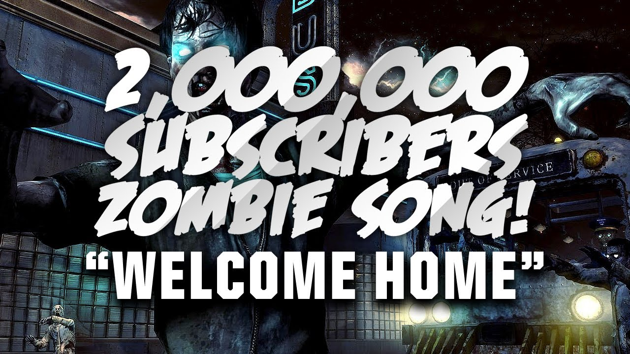 Welcome home 2 000 000 subscriber song call of duty for Why is house music called house