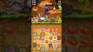 Best Fiends Hero World Tour Level 914 Pumpkin Patch Walkthrough