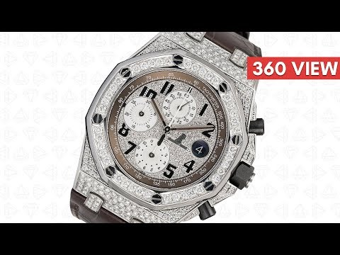Audemars Piguet Royal Oak Offshore Safari Diamond Set - Time4Diamonds