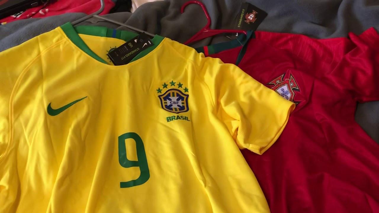 DHgate soccer jersey review (G. JESUS BRAZIL AND BERNARDO SILVA PORTUGAL) a9eb4cf69