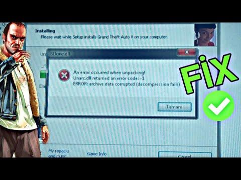 Gta 5 Fitgirl RePack İnstall ISDone.dll Hatası! ÇÖZÜM✔[ANLATIMLI] %100 (Gta V Lolly)