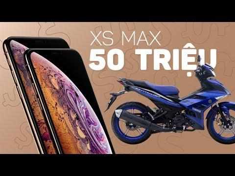 iPhone XS Max 512GB 50 triệu bằng Exciter