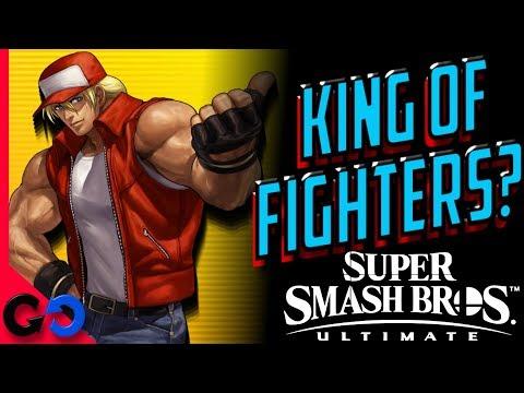 Super Smash Bros Últimate Terry Bogard de KOF como DLC?