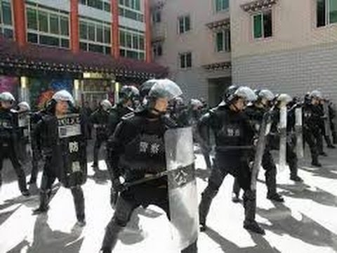 Tibetan Protest in Karze County of Eastern Tibet