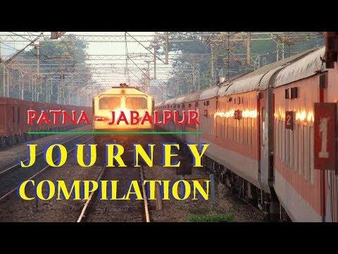 Patna Jabalpur JOURNEY COMPILATION : Patna Bandra Express | LHB Rake