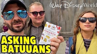 Asking Batuuans How To Get To EPCOT Food & Wine Festival