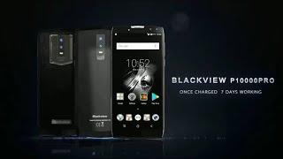 BLACKVIEW P10000 PRO  11000 mAh Battery 7 days working    😲😲