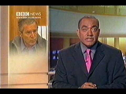 VHS Rip: UK BBC 1 News with Continuity: Sept 15th 2001