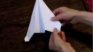 How to make the professional paper airplane