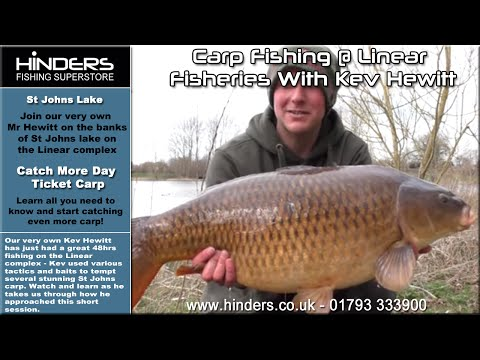 Carp Fishing @ Linear Fisheries With Kev Hewitt