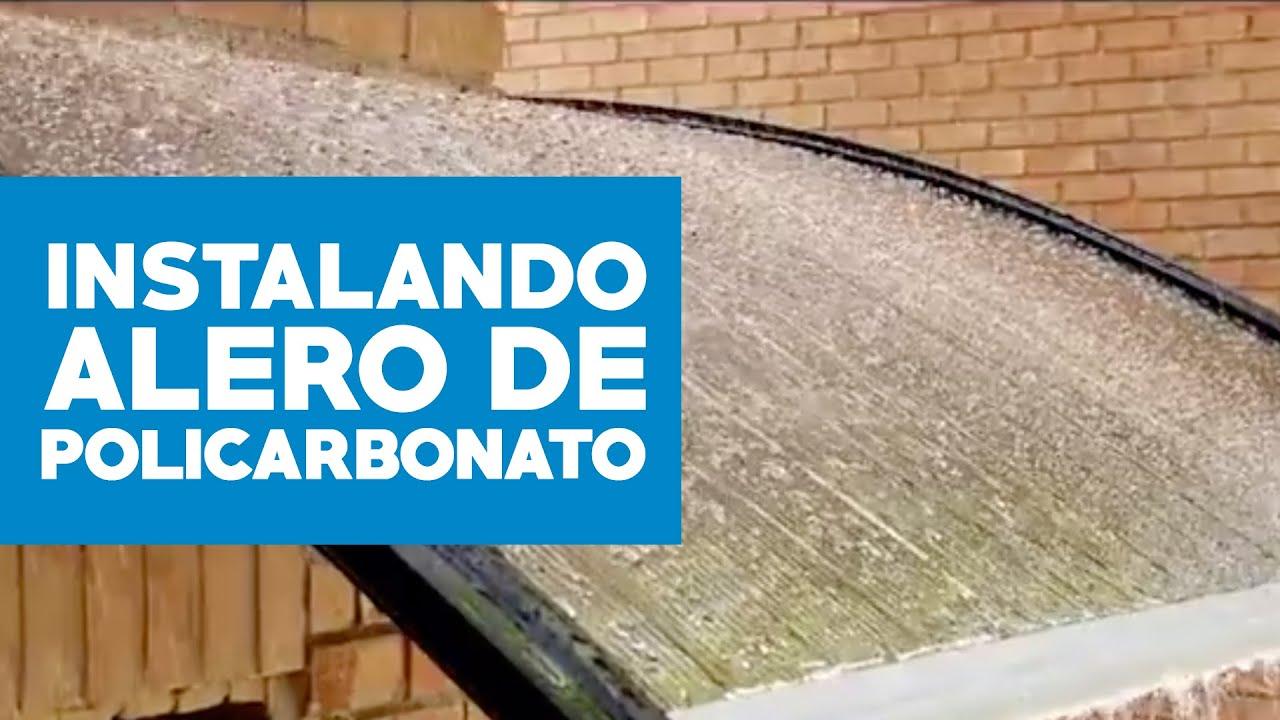 Homecenter Sodimac Soluciones Para El Invierno Alero Policarbonato