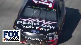 Clint Bowyer snaps 190-race winless streak | 2018 MARTINSVILLE | FOX NASCAR