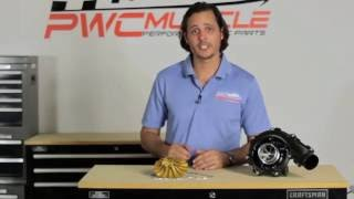 Engine Tech ET137 Supercharger Wheel - Presented by PWC Muscle