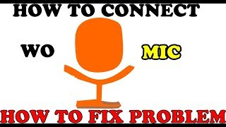 How To Connect wo Mic With Computer | How Fix The Plugin Problem Of Wo mic .