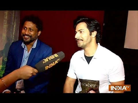 October: Varun Dhawan and Shoojit Sircar reveal interesting details about the movie